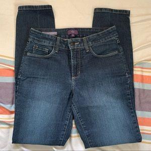 NYDJ Alina leggings jeans size 2